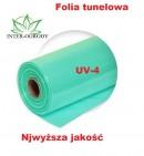 FOLIA 8x33m. UV4 OGRODNICZA - TUNELOWA .TRÓJWARSTWOWA