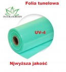 FOLIA 12x33m. UV4 OGRODNICZA - TUNELOWA .TRÓJWARSTWOWA