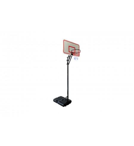 Zestaw do koszykówki PROFI na wysięgniku 305 cm biały