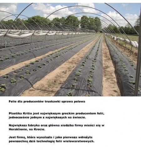 Folia do ściółkowania gleby - ogrodnicza 1,20x160mb. bez dziur