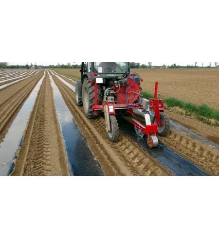 Folia do ściółkowania gleby - ogrodnicza 1x1000mb. z dziurami