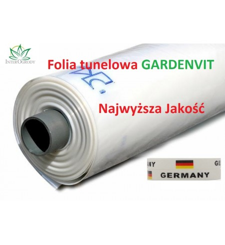 FOLIA Tunelowa Gardenvit 6x33m. UV10 SZKLARNIA