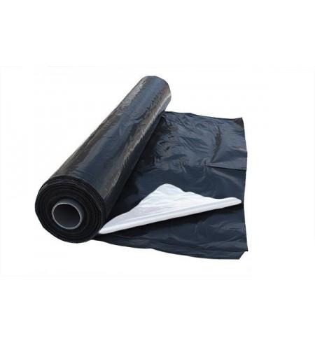 Folia KISZONKARSKA czarno-biała 8x33m