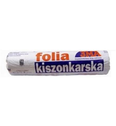 Folia KISZONKARSKA czarno-biała 6x33m
